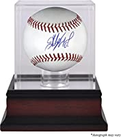 Starling Marte Pittsburgh Pirates Autographed Baseball and Mahogany Baseball Display Case - Fanatics Authentic Certified