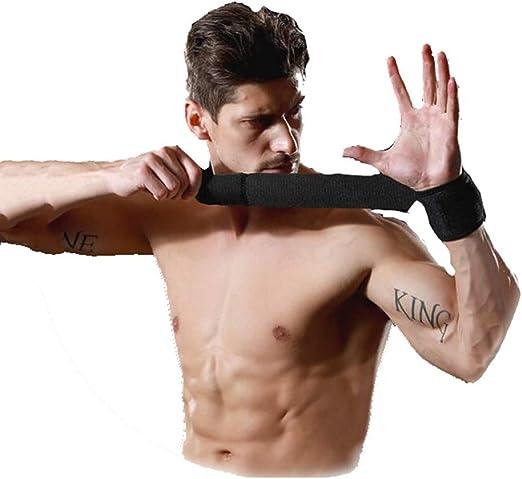 Soporte de muñeca Fitness Anti-Spinning compresión Baloncesto ...