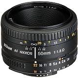 Nikon AF FX NIKKOR 50mm f/1.8D Lens with Auto...