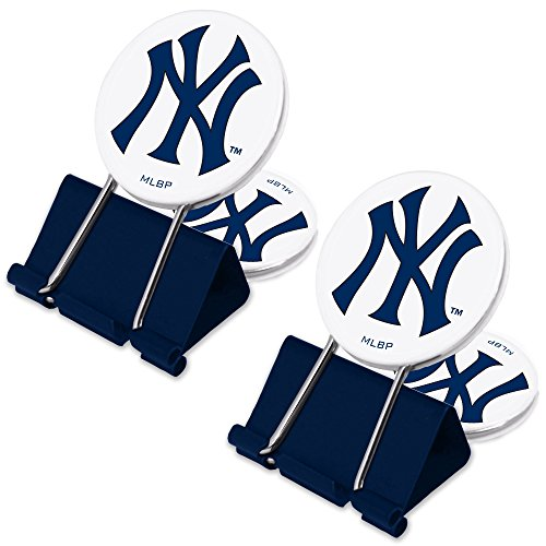Mlb Nfl Money Clip (MLB New York Yankees MyFanClip Multi Purpose Clips (Pack of 2))
