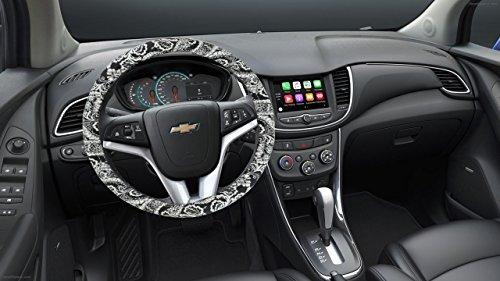 Review Custom Grip 35775P Black Bandana Steering Wheel Cover