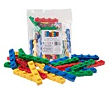 Strictly Briks Classic Diagonal Big Briks Building Brick Set 100% Compatible with All Major Brands | Large Pegs for Toddlers | Ages 3+ | Premium Bricks with Big Pegs in 4 Fun Colors | 24 Pieces