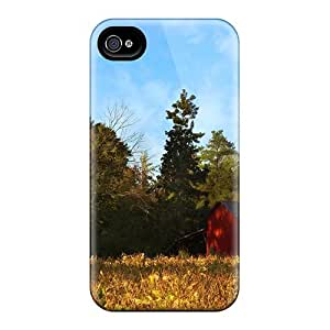 Hot Style TImhhHV100Ewcim Protective Case Cover For Iphone4/4s(piney Grove Farm)