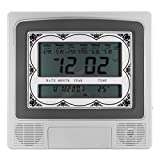 Wall Table Muslim Clock Azan Islamic Alarm Wall Clock Pray - Electronic Accessories & Gadgets Alarm Clocks - 1 x Islamic Azan Clock(Battery is not included), 1 x User Guide