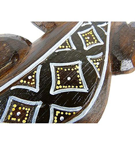Salamandre dise/ño Batik/ /Decoraci/ón de pared madera 30/cm