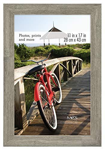 MCS 68856 Museum Poster Frame Onyx Woodgrain
