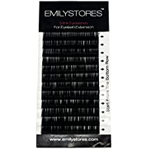 EMILYSTORES Eyelash Extensions Individual Loose Signature Mink Eyelash C Curl Thickness 0.07mm Length 8mm 9mm 10mm 12mm 14mm Silk Lashes Assort Mixed In One Tray