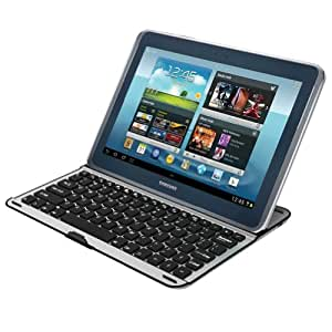 MiniSuit Qwerty Keyboard Stand for Samsung Galaxy 10.1 Note (N8000 N8010 N8013)