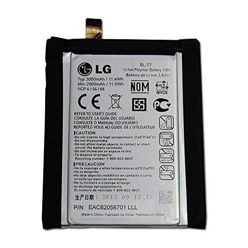 BLT7 BL-T7 with flex cable internal OEM battery for LG OPTIMUS G2 AT&T D800 SPRINT LS980 T-MOBILE D801 VERIZON VS980 (Flex Flip Cable)