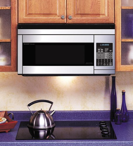 Sharp R1874T 850W Over-the-Range Convection Microwave, 1.1 Cubic Feet, Stainless Steel Reviews