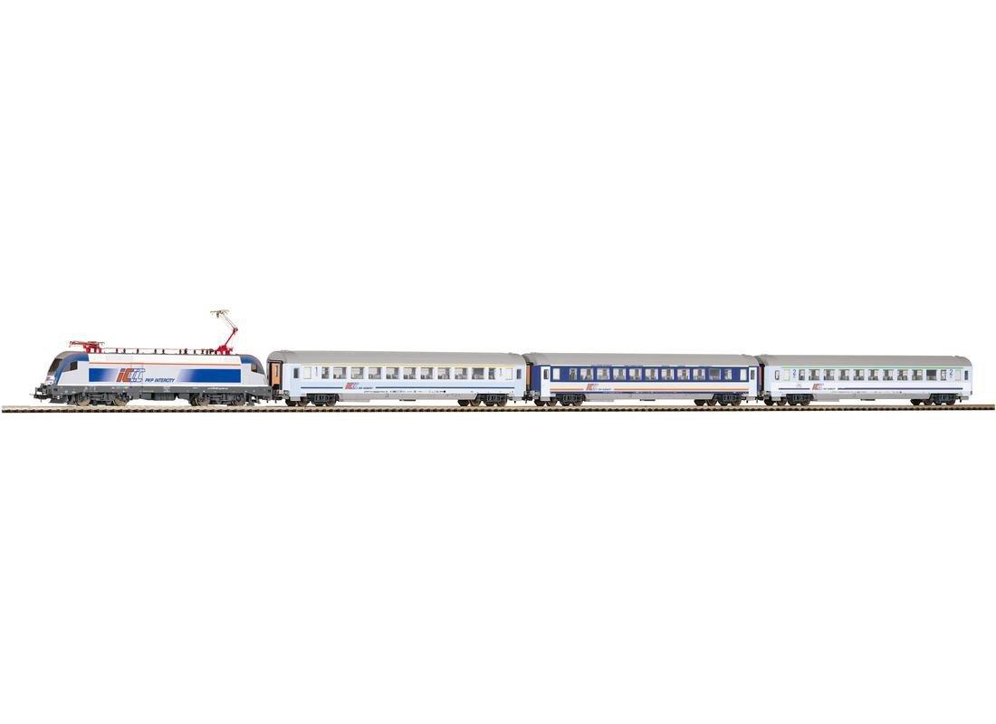 Piko 97906 VI, Startset E-Lok Taurus und DREI IC Wagen PKP VI, 97906 Schienenfahrzeug c16fa8