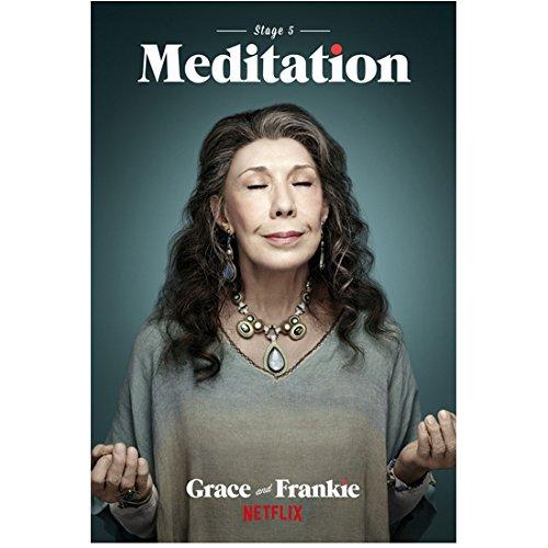 "Grace and Frankie Lily Tomlin as Frankie Bergstein ""Meditation"" 8 x 10 Inch Photo"