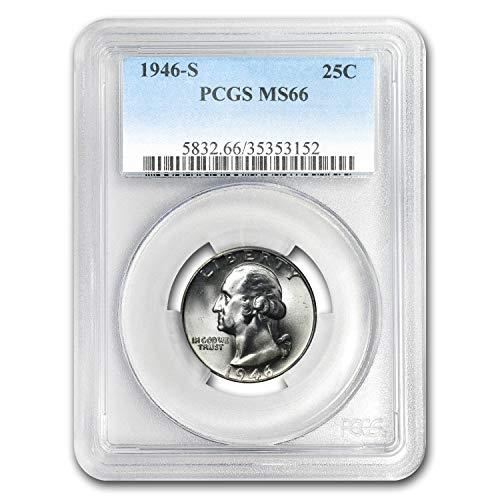 1946 S Washington Quarter MS-66 PCGS Quarter MS-66 PCGS