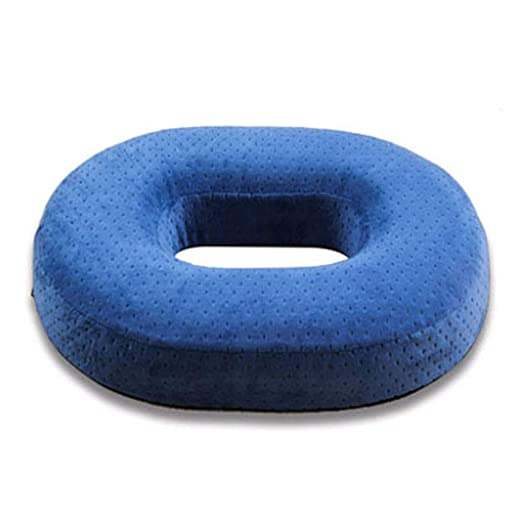 Cojín viscoelástico, asiento de Donut firme, ortopédico ...