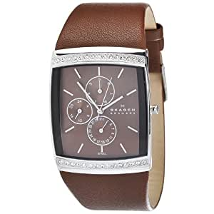 Skagen Women's 656LSLD Japan Quartz Movement Chronograph Watch