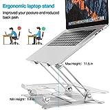 Adjustable Laptop Stand, Ergonomic Notebook