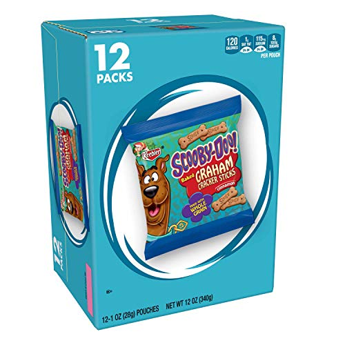 Keebler Scooby-Doo! Graham Cracker Sticks, Cinnamon, 12 ct