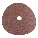 Forney 71653 Sanding Discs, Aluminum Oxide with 7/8-Inch Arbor, 7-Inch, 24-Grit, 3-Pack