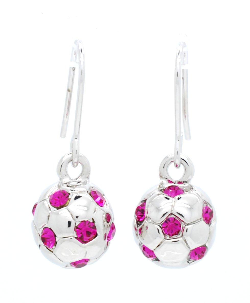 Violet Victoria & Fan Star Balón de fútbol earringsfull balón de ...