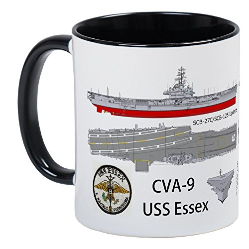 CafePress - USS Essex CV-9 CVA-9 - Unique Coffee Mug, Coffee Cup