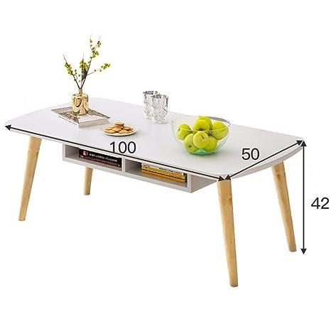 HJKH Anidación Muebles Mesa de café Mesa Redonda sofá Simple ...