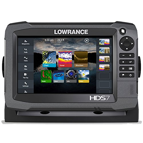 Lowrance 000-11788-001 HDS-7 GEN3 Insight Fishfinder/Chartplotter with CHIRP/StructureScan and 83/200+ StructureScan Transducer