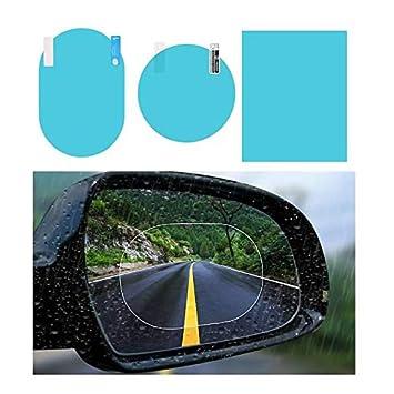 KAIBSEN 2Pcs Auto R/ückansicht Spiegel Schutzfolie,Hohe /Übertragung Anti-Nebel Nano Coating Regenfeste Blaus Bildschirmfenster Spiegel Schutz klarer Nano-Film