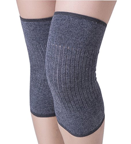Unisex Adults Stretchy Thermal Knee Brace Leg Warmers Sleeves Winter Cozy Breathable Knee Pads Support Protector Legging for Outdoor Sports Ski Running Cycling Arthritis Tendonitis 1 ()