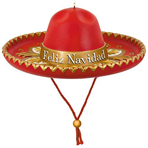 Hallmark Keepsake 2017 Feliz Navidad Sombrero Musical Christmas - 2017 Cards Deals Christmas