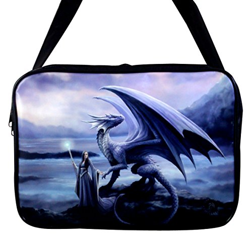 NEW ANN STOKES DRAGON FAIRY ART, SIDE BAG/ PURSE **YOUR CHOICE OF ART**BY ACK (NEW HORIZONS) ()