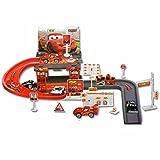Kiditos Mater Car Park Garage Racing Track Toy - 29 Pcs