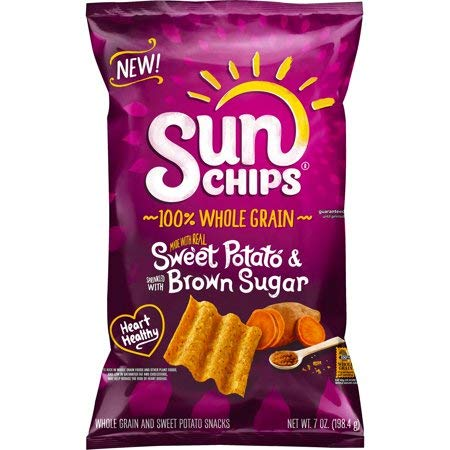Expect More SunChips Sweet Potato & Brown Sugar Whole Grain Chips, 6 ct. / 42 Oz.