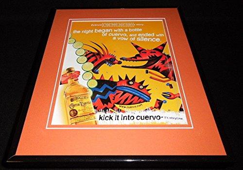 1999 Jose Cuervo Especial Tequila Framed 11x14 ORIGINAL - Tequila Especial Cuervo