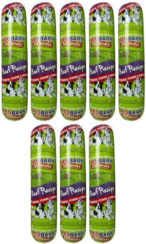 Red Barn Beef Dog Food Roll 32Lbs (8 x 4Lb)