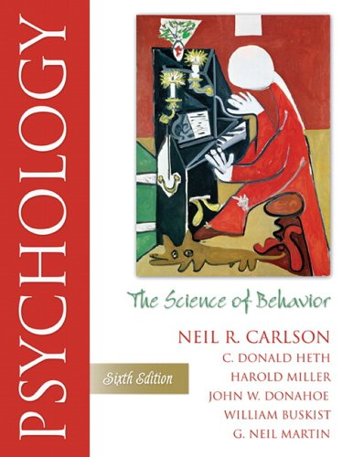 Psychology: The Science of Behavior (6th Edition)