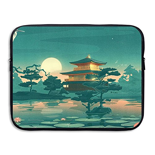 Business Briefcase Sleeve Painting West Lake Laptop Sleeve Case Cover Handbag For 13 Inch Macbook Pro / Macbook Air / Asus / Dell / Lenovo / Hp / Samsung / Sony / Women & Men ()