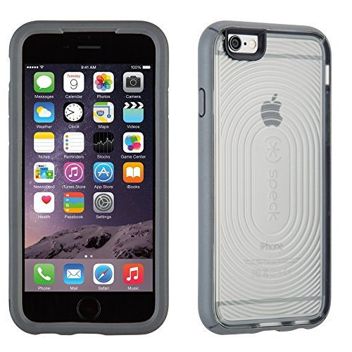 Speck SPK-A3478 MightyShell Hard Case 14 cm (5,5 Zoll) für Apple iPhone 6 Plus clear/slate