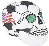 9'' USA SOCCER BALL SKULL HEADS, Case of 24