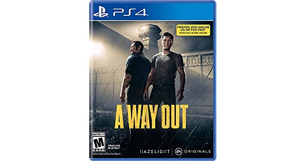 Amazon A Way Out Playstation 4 Electronic Arts Video Games