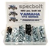 yfz 450 heads - 150pc Specbolt Yamaha Bolt Kit YFZ 450 YFZ450 ATV for Maintenance Upkeep & Restoration OEM Spec Fasteners ATV Quad