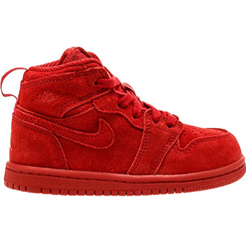 Jordan Retro 1 High Gym Red/Gym Red (Toddler) (7 M US Toddler)