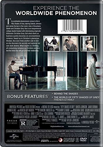 fifty shades of grey unrated edition 50 dakota romance dvd. Black Bedroom Furniture Sets. Home Design Ideas
