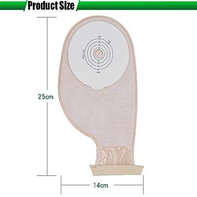 Amazon.com: XIHAA - Bolsa de colostomía desechable, bolsas ...