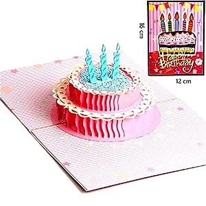 Tarjeta de Cumpleaños 3D Paper Spiritz Felicitación ...
