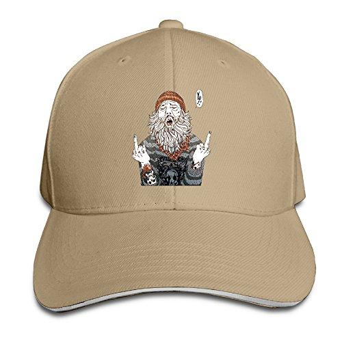 NUBIA Fuck You Sun Protection Hat Flex Fit Hat Natural