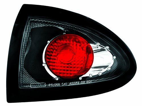 IPCW CWT-CE306CF Crystal Eyes Carbon Fiber Tail Lamp Outer Piece - Pair