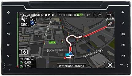 KUNFINE Android 9.0 8核自動車GPSナビゲーション マルチメディアプレーヤー 自動車音響 トヨタ TOYOTA COROLLA 2016 2017自動車ラジオハンドル制御WiFiブルースティスト