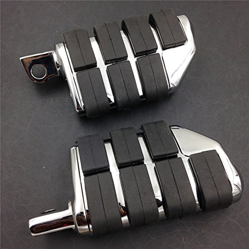 Motorcycle 8028 ISO Dually Foot Rest pegs For Harley Touring Electra Glide Softail & Dyna - Dually Pegs