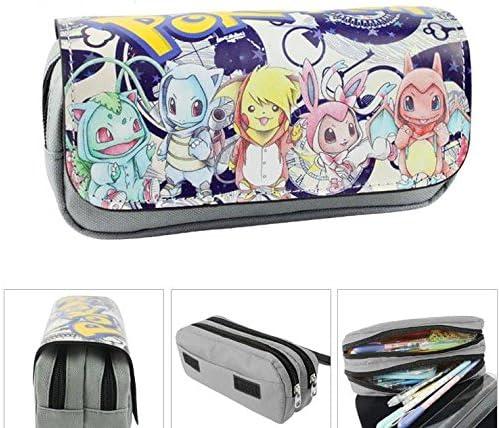 Kids Craze UK bebé Pokemon estuche dos compartimentos: Amazon.es: Oficina y papelería