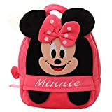 Free2mys Kids Minnie Mouse Soft Plush Doll School Backpack